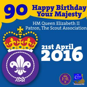 90th Birthday Queen Facebook