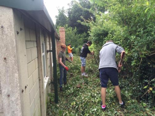 Clearing up the grounds
