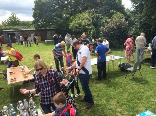Fantastic weather at our Group Summer Fair