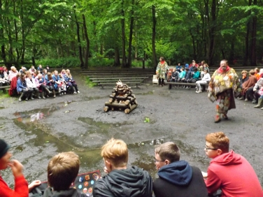 Campfire with other Scout Groups
