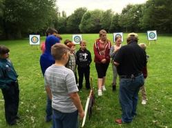 Archery briefing