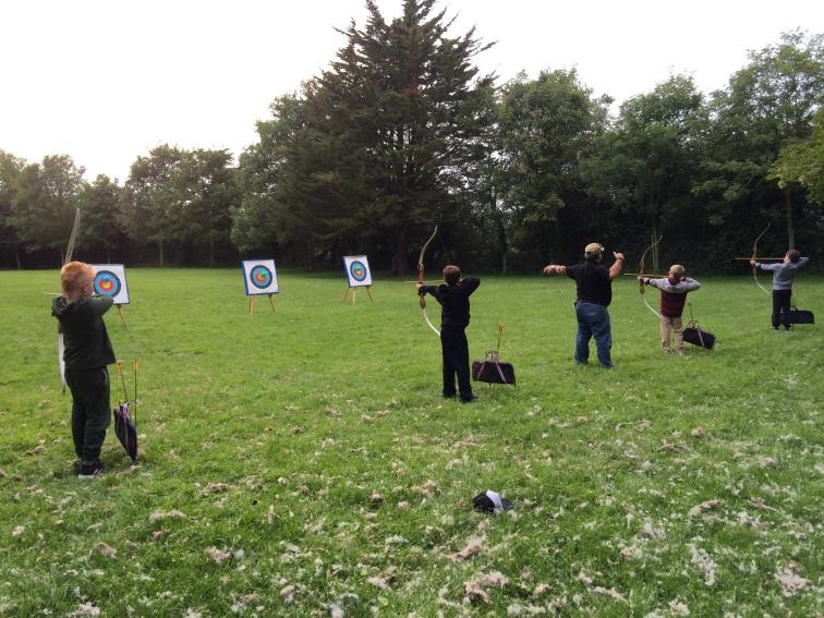 Archery underway!