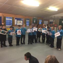 Delamere Beavers learning about Fairtrade