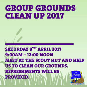 Grounds Clean Up 2017 Facebook
