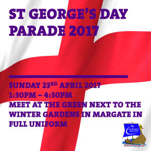 St George's Day 2017 Facebook