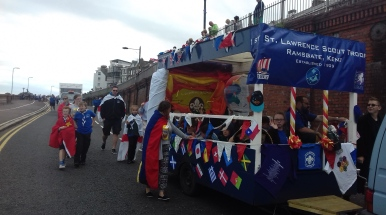 Our group float