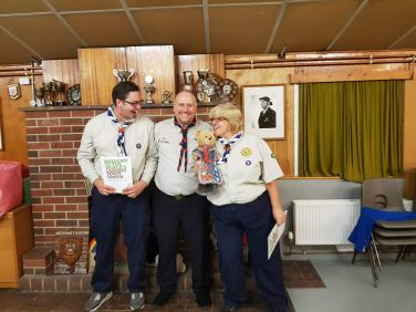 Dawn & Graham with the ADC Cubs