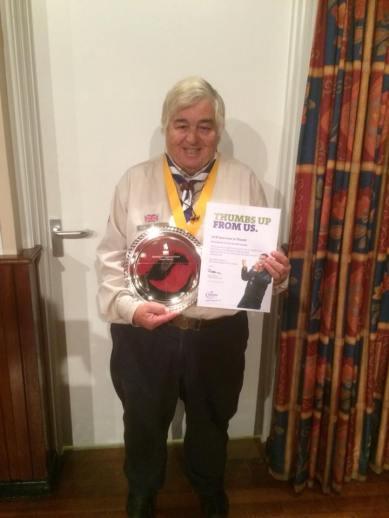Skip receiving the Growth & Development Award
