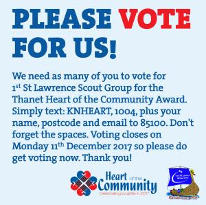 Heart of the Community Award Facebook
