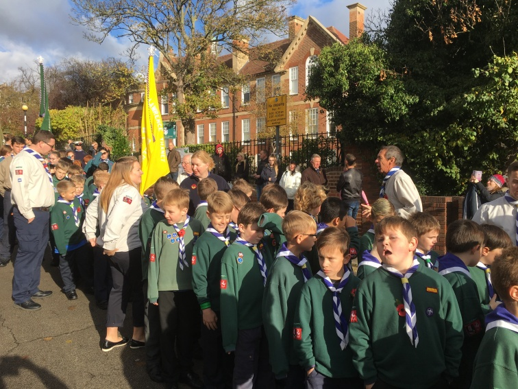Our Cubs ready to parade
