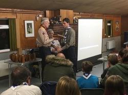 Presentation of the Pop Hughes Memorial Award