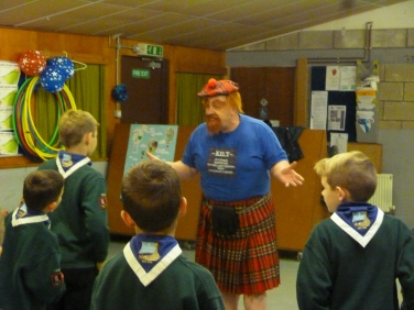 Our resident Scotsman Louie (Jim)