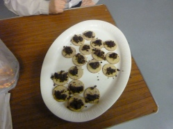 Haggis and oatcakes