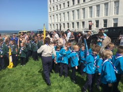 Our Beavers on Parade