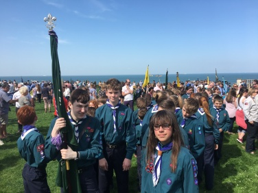 Our Scouts on Parade