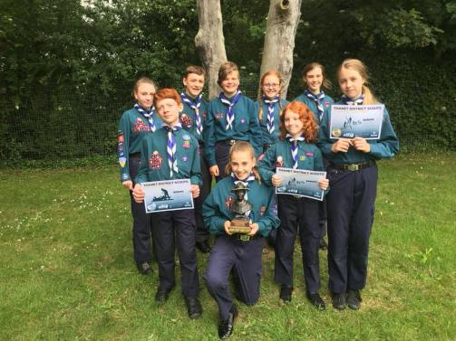 District First Aid & Pioneering Competition 2018