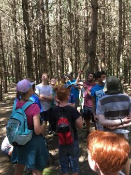 Nature walk & Geocaching with Slug