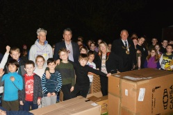 Our Scout Group at Porchlight Event