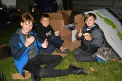 Our Scouts at Porchlight Event