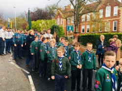 Mosquito Cubs on Parade