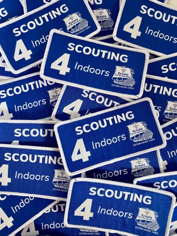 Scouting 4 Indoors Badge